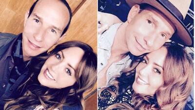 La historia de amor de Andrea Legarreta y Erik Rubín