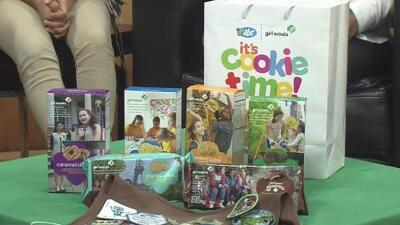 Girl Scouts comienzan la temporada de venta de galletas para recaudar dinero
