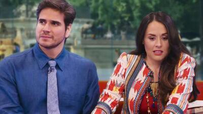 Zuria Vega y Daniel Arenas aseguran que 'Mi Marido tiene Familia' es la novela más real que han hecho