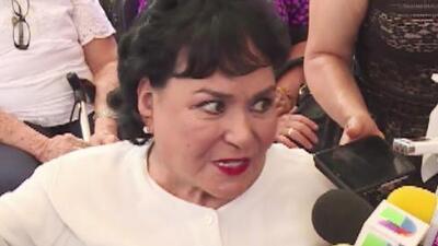 Carmen Salinas explotó cuando le preguntaron de sus bromas hacia Thalía