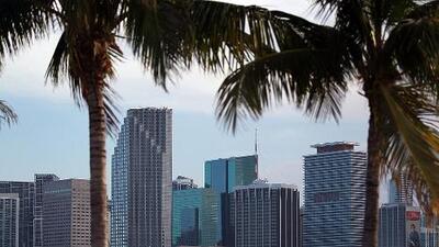 Miami se alista para una tarde de jueves con constantes vientos y algunos chubascos pasajeros