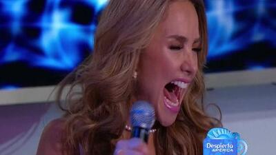 Ximena Córdoba pasó tremendo susto que la dejó con la boca abierta