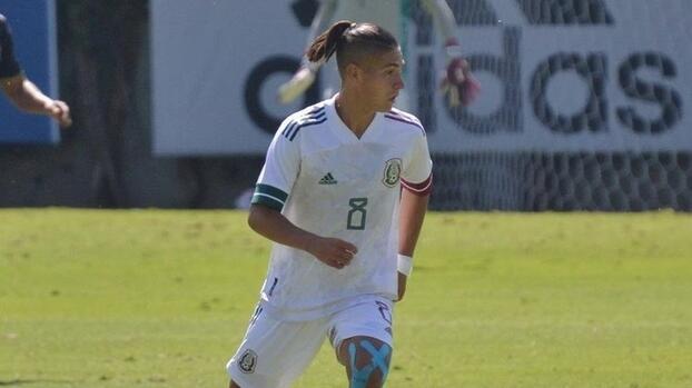 Benjamín Galdames se decide por la Selección Mexicana Sub-20
