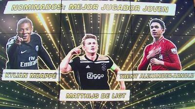 ¡Premios Misión Europa! Mejor jugador joven del año
