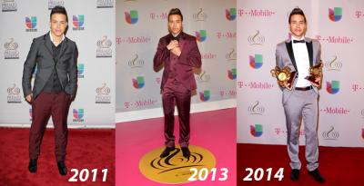 Encuesta #TBT: los hombres mejor vestidos en la historia del Premio Lo Nuestro