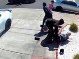 Captan en video a adolescentes atacando a un asiático de 80 años en San Leandro