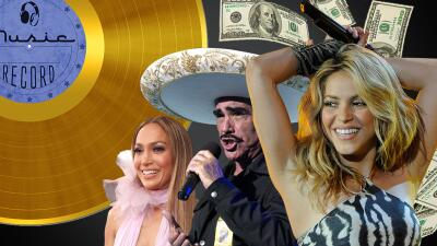 Latinos con más discos vendidos en la historia