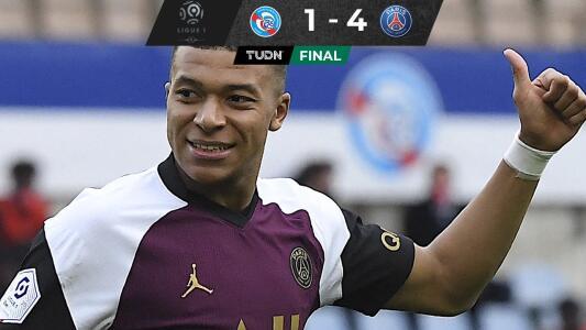 Con gol y asistencia de Mbappé, el PSG sigue a la caza del Lille