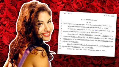 Vuelven a proponer en Texas celebrar oficialmente el Día de Selena Quintanilla (largo camino por recorrer)