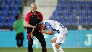 Capitán del Leganés pide que la lucha del equipo sea un ejemplo de vida