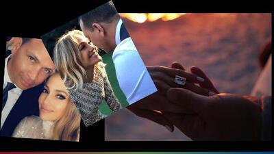 Con un anillo que podría costar más de un millón de dólares, JLo le dio el sí a Alex Rodríguez