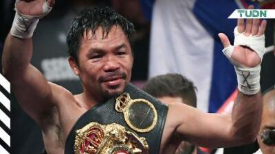 Manny Pacquiao vislumbra pelear en 2020 contra Mikey García