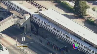 Evacuaron estación del metro en California por amenaza de bomba