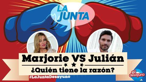 Marjorie vs Julián, continua el gran debate ¿Quién tiene la razón?