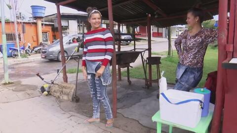 Vender arepas en las calles de Brasil: la nueva vida de una familia venezolana que tuvo que comenzar de cero