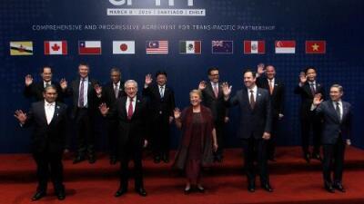 11 países aliados de EEUU firman un acuerdo de libre comercio el mismo día en que Trump anuncia medidas proteccionistas