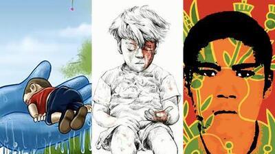 Cuando una foto no es suficiente: el arte como arma contra la tragedia