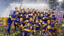 Boca Juniors femenil gana su primer título tras humillar a River