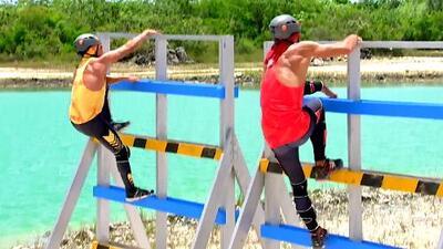 'El Rasta' y Brandon midieron su destreza en una reñida batalla por mil dólares