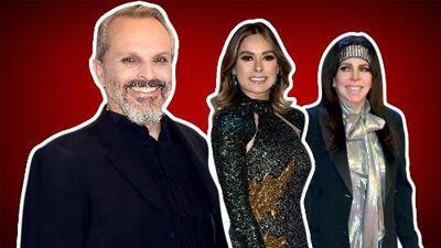 Miguel Bosé acompañará a Verónica Castro en la mesa de jueces de Pequeños Gigantes