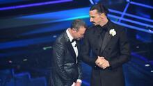 La divertidísima presentación de Zlatan en el Festival de San Remo