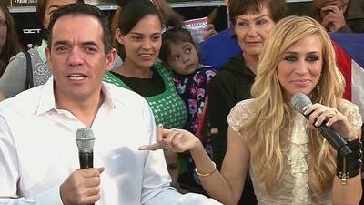 Noelia supera el reto de trabajar con su pareja Jorge Reynoso