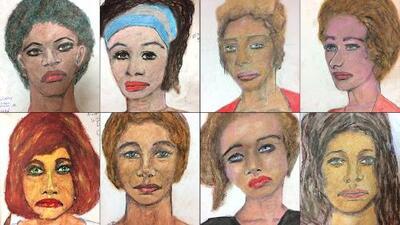 El asesino serial que también es dibujante: hizo los retratos de sus propias víctimas al FBI