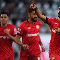 Golpe de autoridad del Leverkusen en Wolfsburgo