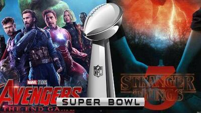 De Avengers: Endgame a Stranger Things 3: los avances que podríamos ver en el Super Bowl LIII
