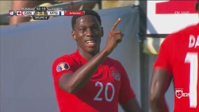 ¡Llegó el segundo! Gol de Canadá