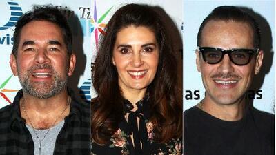 Eduardo Santamarina, Mayrín Villanueva y Jorge Poza se reúnen en el inicio de 'Sin tu mirada'