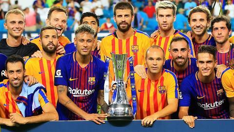 Barcelona vs. Milán y más partidos en Estados Unidos de la International Champions Cup 2018