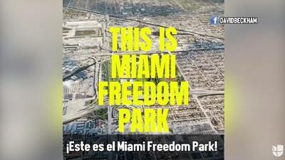 Así será el Miami Freedom Park, el espectacular estadio del proyecto Beckham