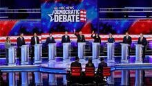 Inmigración, economía e impuestos marcan la segunda jornada del debate presidencial demócrata