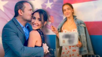 En fotos: Alan Tacher celebra que su hija Hannah ya es ciudadana de EEUU