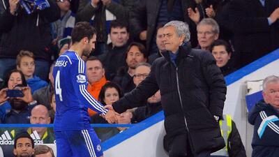 Fábregas: 'Los jugadores del Chelsea decepcionamos a Mourinho'