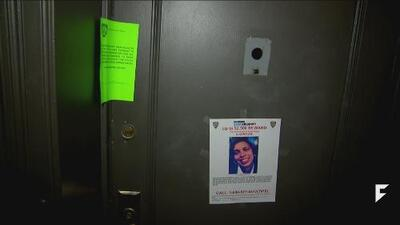 New York mother shot and killed through peephole.