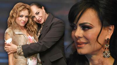 A Maribel Guardia no le molesta sustituir a Paulina Rubio, pese a viejas rencillas por un amor