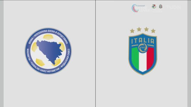 Bosnia y Herzegovina 0-3 Italia – Resumen y goles – Grupo J - Clasificación a la Eurocopa