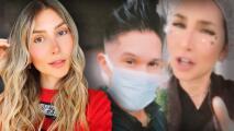 Esposa de Chyno Miranda responde por qué no usa tapabocas (viendo lo que le pasó a él)