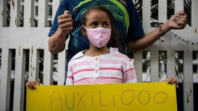 """""""Yo no quiero morir"""": El clamor de una niña venezolana trasplantada que sufre por escasez de medicamentos"""