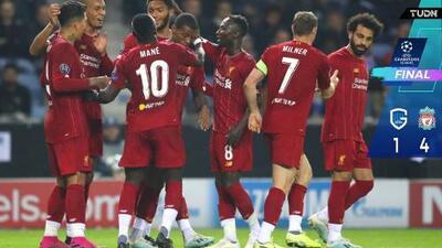 Liverpool vence con comodidad en Bélgica