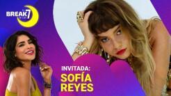 Sofía Reyes se conecta con Alejandra Espinoza en El Break de las 7