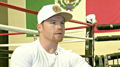 'Canelo' Álvarez se prepara en San Diego para el estelar combate contra Golovkin