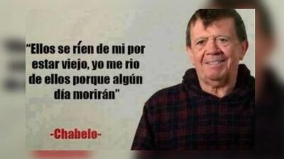 Chabelo cumplió un año más de vida y demostró que sigue siendo el 'Rey de lo Memes'