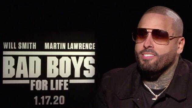 """Para Nicky Jam es """"irreal"""" haber actuado de villano con Martin Lawrence y Will Smith en 'Bad Boys for Life'"""