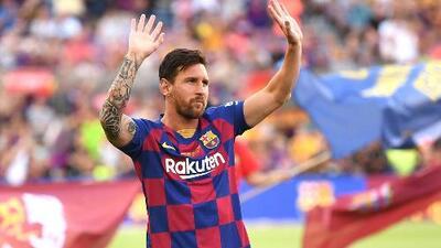 Messi recibe el alta y es convocado para debut en Champions