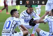 Inter se mantiene firme en el liderato tras vencer al Torino
