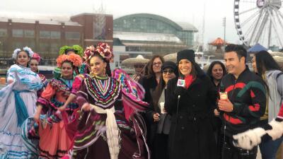 Despierta América visita Chicago y sus presentadores gozaron con multitudes en Navy Pier