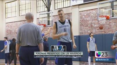 Los Mavericks presentan a su nueva figura europea